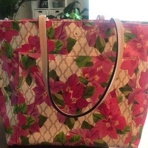 Kate Spade Riley Floral Tote Bag